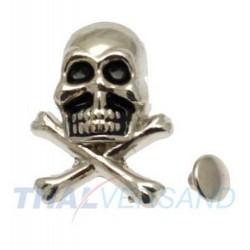 Totenkopf Skull Motivnieten...