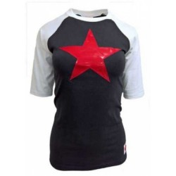 Roter Stern - Girlie T -...