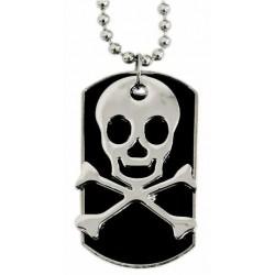 Halskette -  Totenkopf (...