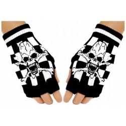 Fingerlose Handschuhe - Ska...