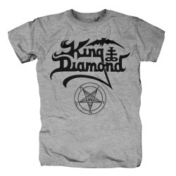 King Diamond - Black Logo...