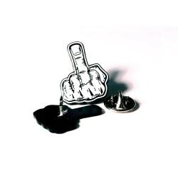 Fuck Finger (Metal Pin )