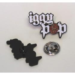 Iggy Pop - Logo ( Metal Pin )