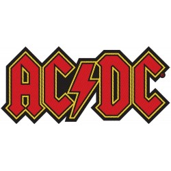 AC/DC -Logo Cut out ( Patch...