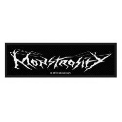 MONSTROSITY - LOGO ( Patch...