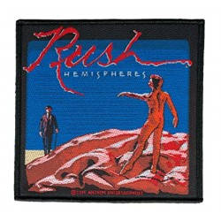 RUSH -  HEMISPHERES ( Patch...