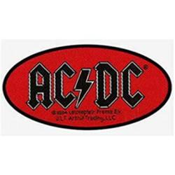 AC/DC - Oval Logo ( PATCH...