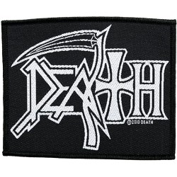 DEATH - Logo ( Patch ca. 10...
