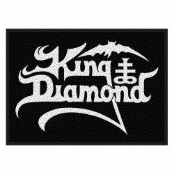 KING DIAMOND - LOGO ( Patch...