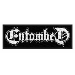 ENTOMBED - LOGO ( Patch ca....