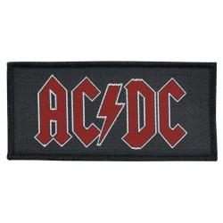 AC/DC - RED LOGO ( Patch...