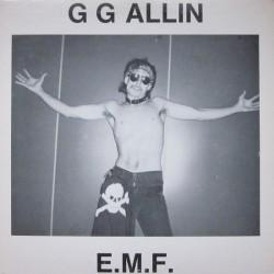 GG ALLIN - E.M.F.  ( Black...