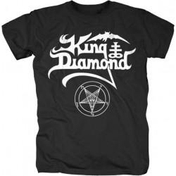 King Diamond - White Logo (...