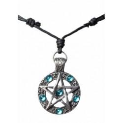 Halskette Pentagramm mit...