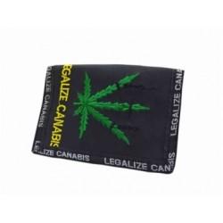 """Geldbörse """"Legalize Canabis"""""""