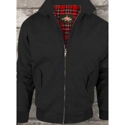 "Harrington Jacket ""schwarz"""