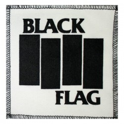 BLACK FLAG - Logo ( Patch...