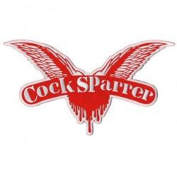 COCK SPARRER - Logo ( Patch...