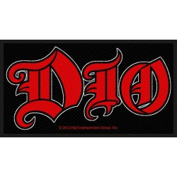 DIO - Logo ( Patch ca. 5,5...